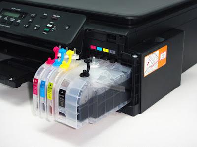 Sistema inyección tinta impresoras