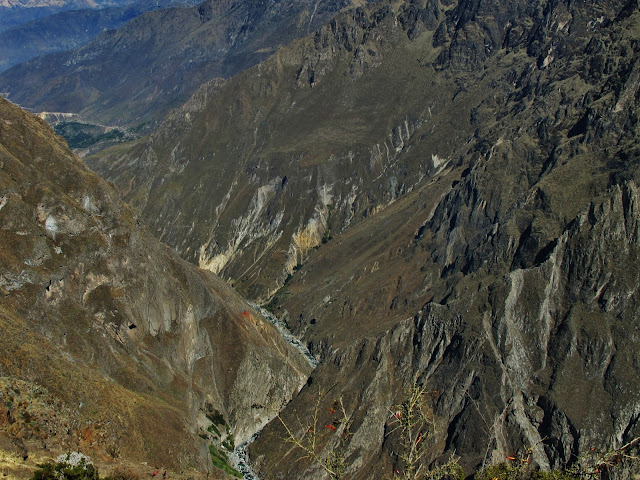 Cânion do Colca no Peru.