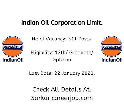 IOCL Requirements 2020 Apprentice latest government job vacancies 2020.