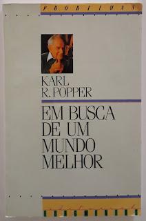 Em Busca de um Mundo Melhor, de Karl R. Popper