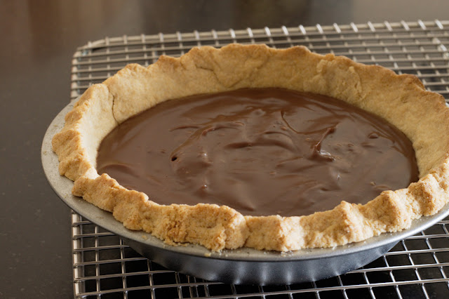 whole wheat chocolate cream pie