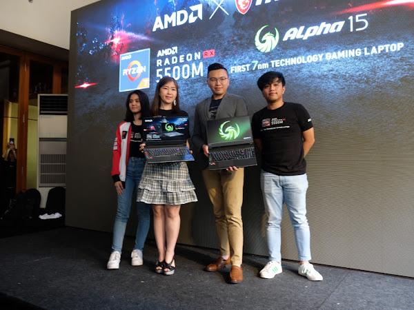 MSI Alpha 15, Perangkat 'Buas' Dengan AMD Radeon™ RX 5500M