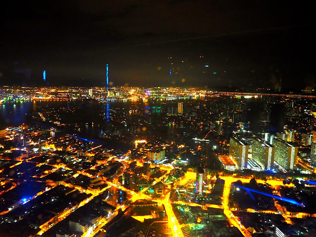 Sky Bar night view, Penang, Malaysia