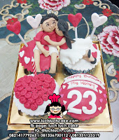 Cupcake Romantis Birthday and Anniversary