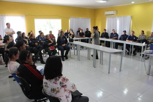 Patrulha Maria da Penha capacita Guarda Municipal de Delmiro Gouveia