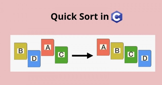 C Program For Quick Sort | C Programming