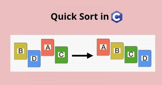 C Program For Quick Sort | C Programming
