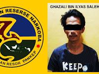 Satu Lagi Pengedar Narkoba Asal Makassar Ditangkap Polisi Disamping Kantor Damkar Pangkep