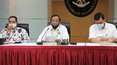 Pilkada 2020, Mahfud MD Sebut Pengumuman Pasangan Calon Melalui Website