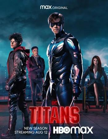 Titans (2021) HDRip Complete English Season 3 Download