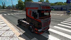 Silver Duke Transport skin for Scania RJL