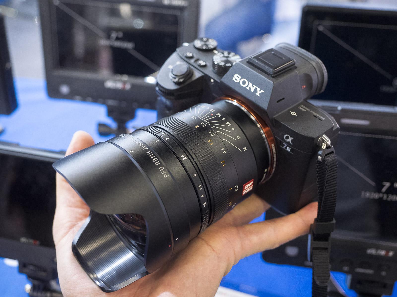 Объектив Viltrox 20mm f/1.8