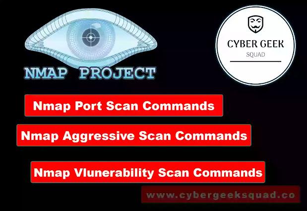 Nmap: Port Scan, Vulnerability Scan, Aggressive Scan Commands