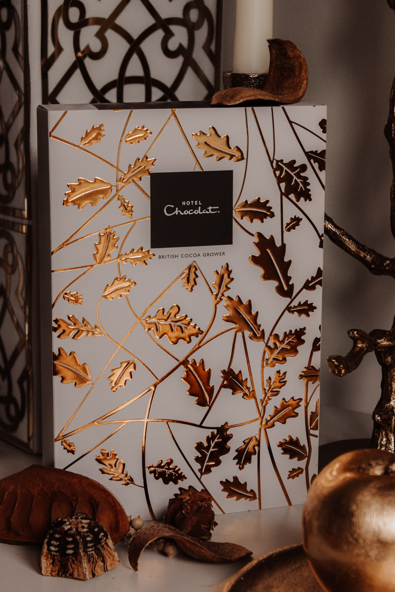 Hotel Chocolat The Everything H-Box of Chocolates with Autumn Sleeve
