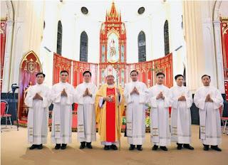 Giáo phận Hải Phòng: Thánh lễ truyền chức 7 phó tế