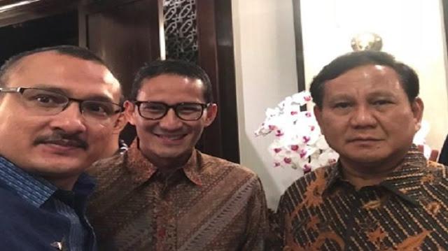 Andi Arief Sebut Demokrat-Gerindra Tak Berkoalisi, Ferdinand Tetap Dukung Prabowo-Sandi