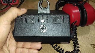 detector vlf  com lanterna de led