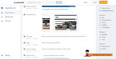 Preview kepada paparan blog Cikgu Hailmi bagi versi mobile