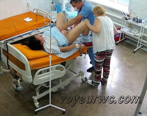 Gyno exam of pregnant woman SpyCam (Examination During Pregnancy 06-07)
