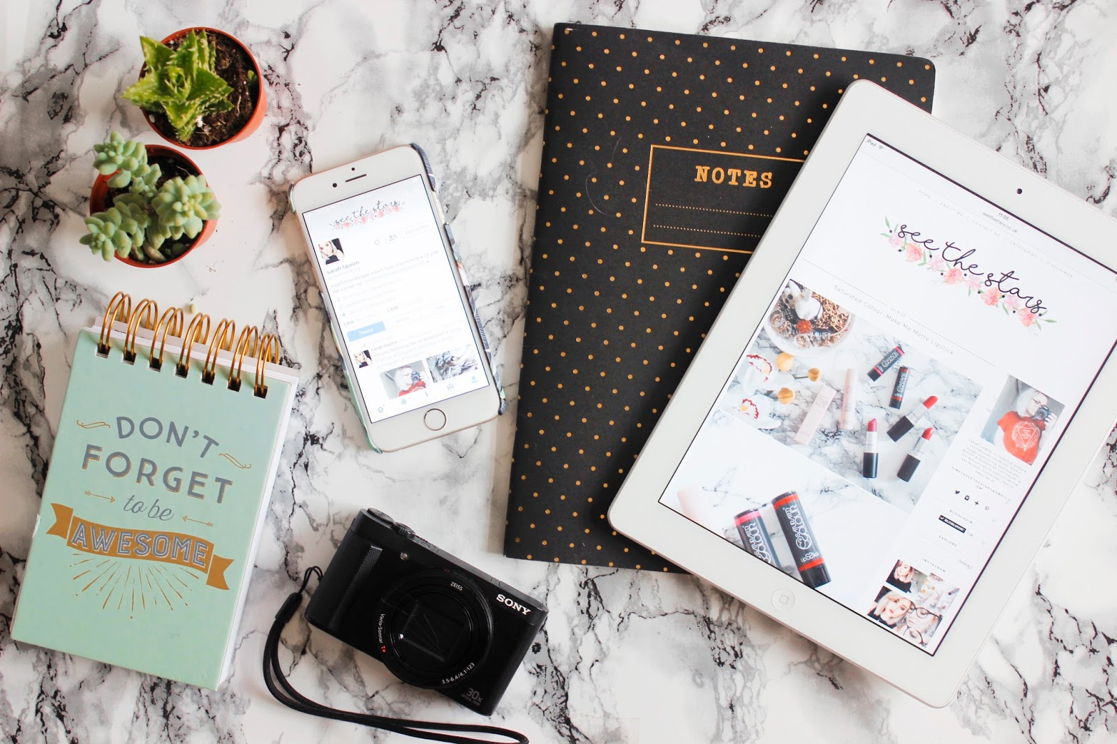 See The Stars - Keeping Organised as a Part Time Blogger