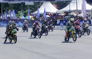 Yamaha Cup Race 2018 Singkawang : Kelas Komunitas Tembus 171 Starter