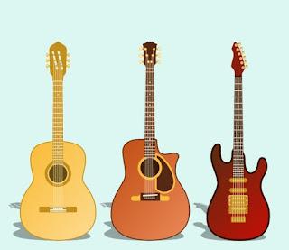 Asal Usul Dan Sejarah Gitar Akustik dan Gitar Elektrik
