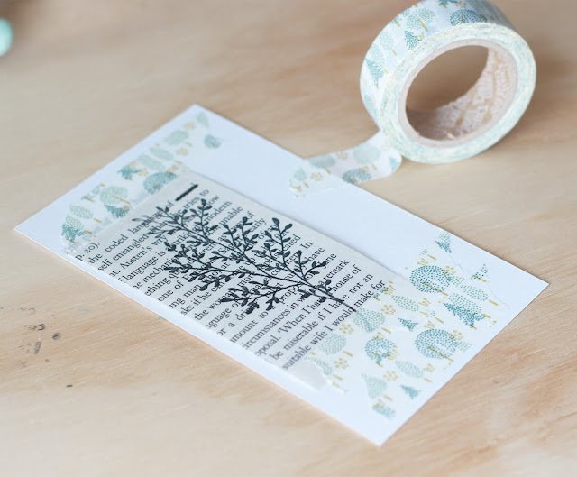 Menos es más: crea etiquetas y tarjetas con muy poquita cosa