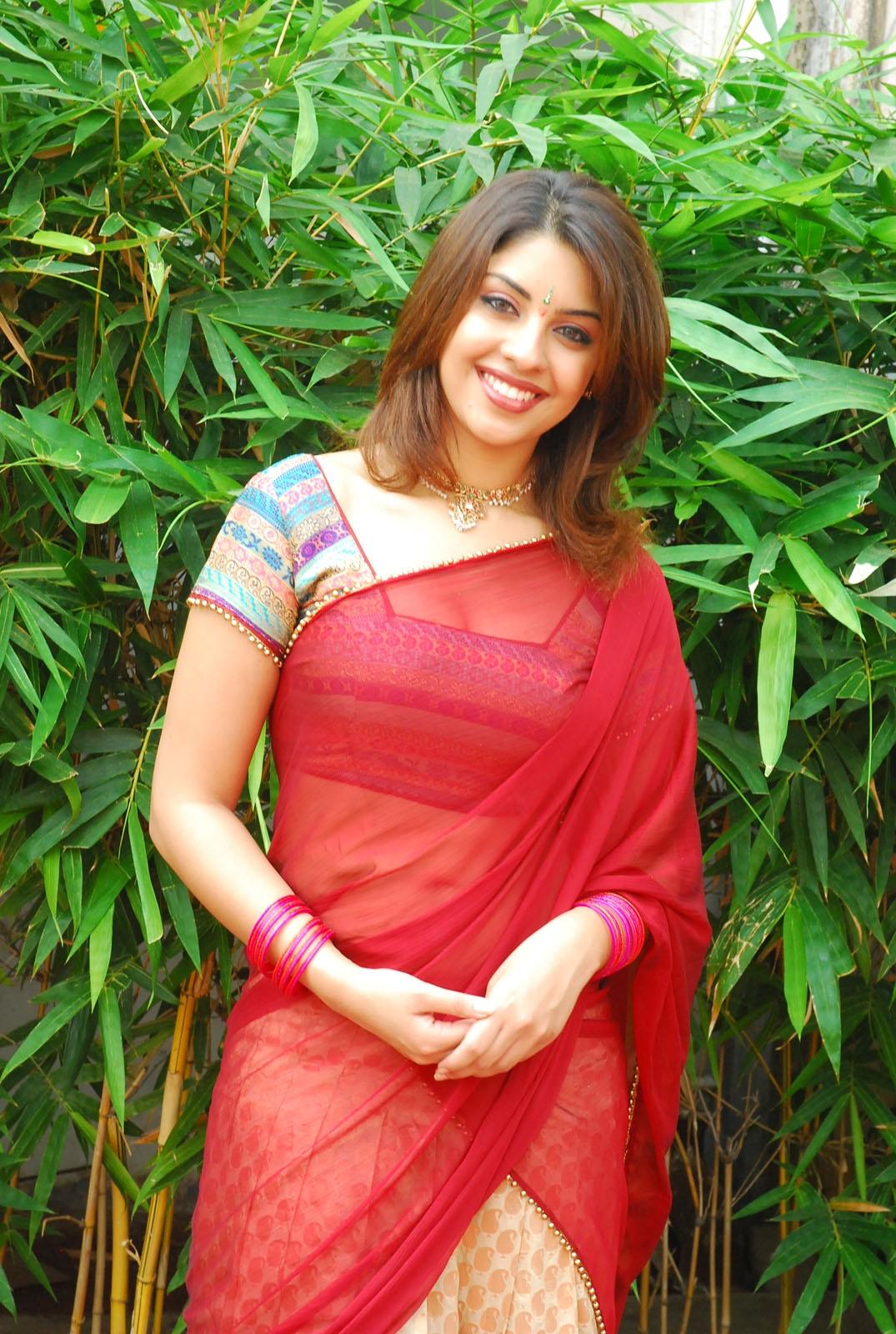Richa gangopadhyay in red