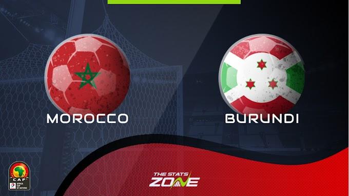 مشاهدة مباراة المغرب و بوروندي بث مباشر