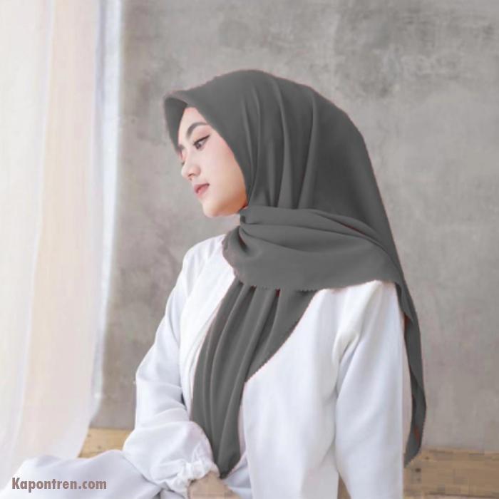 hijab Motif Pinggir Cut INSTAN