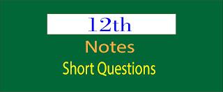 12th Class Pak Studies notes