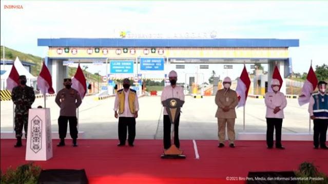 Jokowi Resmikan Tol Balikpapan-Samarinda; Momen Bersejarah, Jalan Tol Pertama Kalimantan