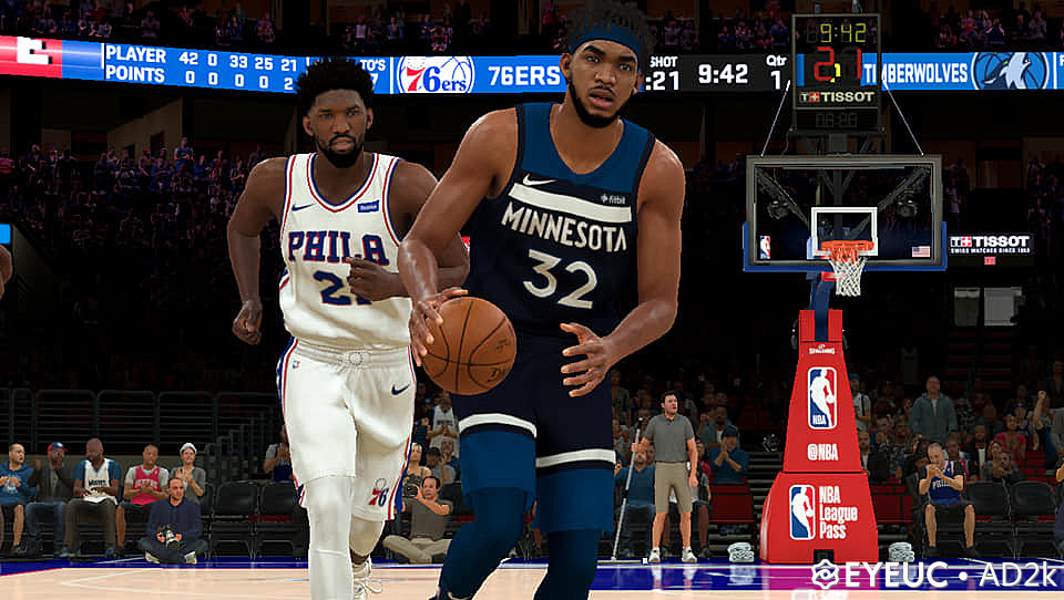 Karl Anthony Towns Hair Face And Body Model By Ad2k For 2k20 Nba 2k Updates Roster Update Cyberface Etc