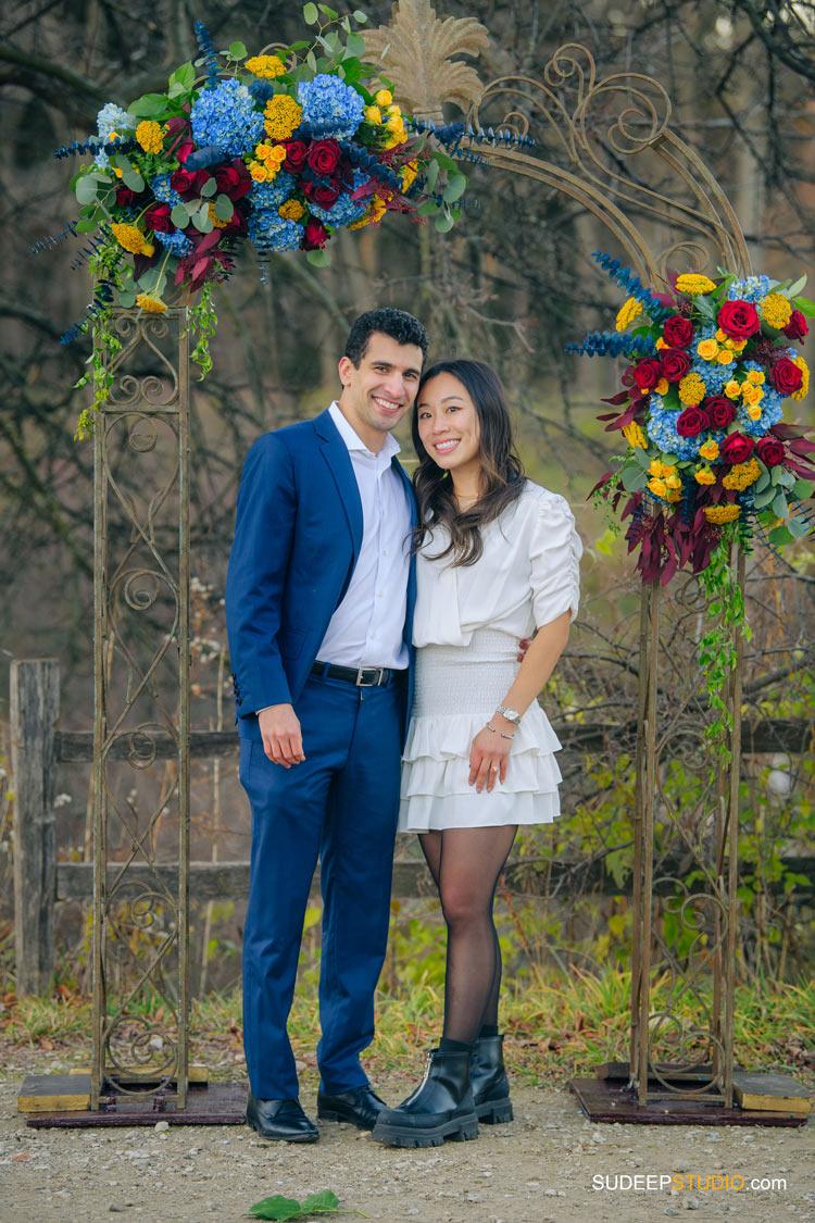 Real Wedding Proposal Photography Nichols Arboretum by SudeepStudio.com Ann Arbor Wedding Photographer
