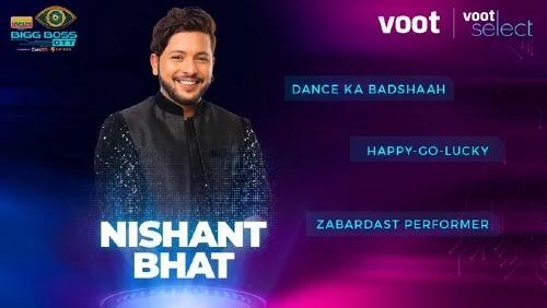 Bigg Boss OTT Contestant 10 - Nishant Bhat