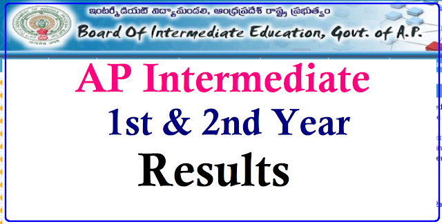 1st,2nd Year Intermediate Results 2017,Download AP Inter Result 2017 | Check AP Inter Results at Board of Intermediate Education ,Hyderabad Official Website| Get AP Inter Results 2017| Board of Intermediate Education Andhra Pradesh,Amaravathi| Inter Results BIE AP Inter Results 2017| Inter First Year March 2017 Results| Inter Second Year March 2017 Results| Board of Intermediate First Year and Second Year March 2017 Results| AP 1st and 2nd Year Results will be released by the BIE Officials and results will be uploaded on its official website bieap.gov.in| Andhra-pradesh-board-of-intermediate-education-ap-inter-1st-2nd-year-results-bie-ap-intermediate-results-marks-sheet-download/2017/03/Andhra-pradesh-board-of-intermediate-education-ap-inter-1st-2nd-year-results-bie-ap-intermediate-results-marks-sheet-download.html