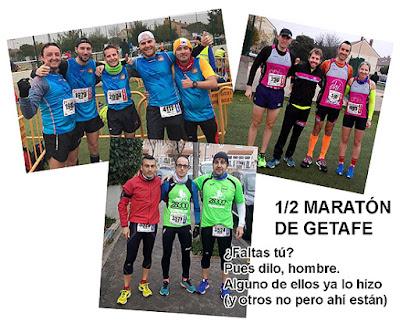 Atletismo Aranjuez - Medio Maratón de Getafe