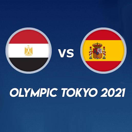 Live streaming Egypt vs Spain Olympic Tokyo