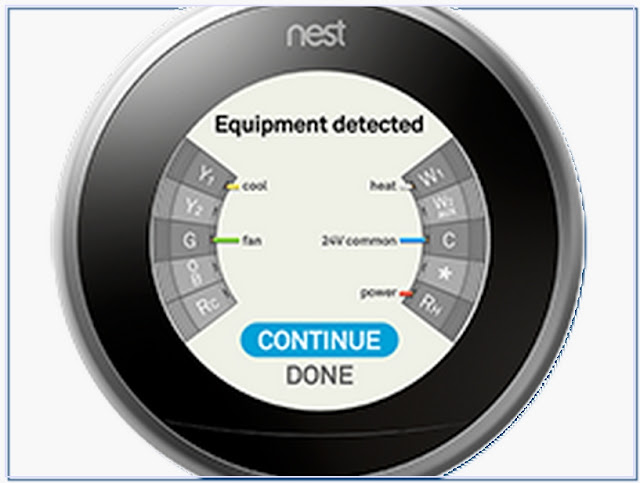Nest thermostat and programmer
