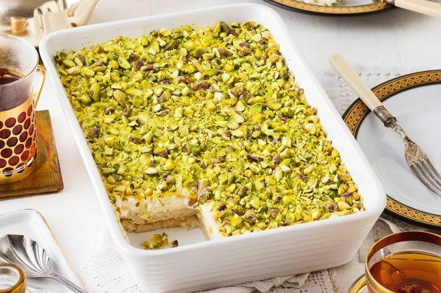 Saniora's palace bread (Aish el saraya)
