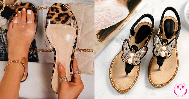 10 Different and Beautiful Flat Sandals