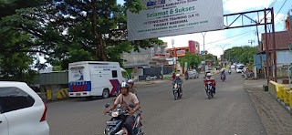Unit Dikyasa Sat Lantas Polres Bone Gencar Sosialisasi Cegah Penyebaran Corona
