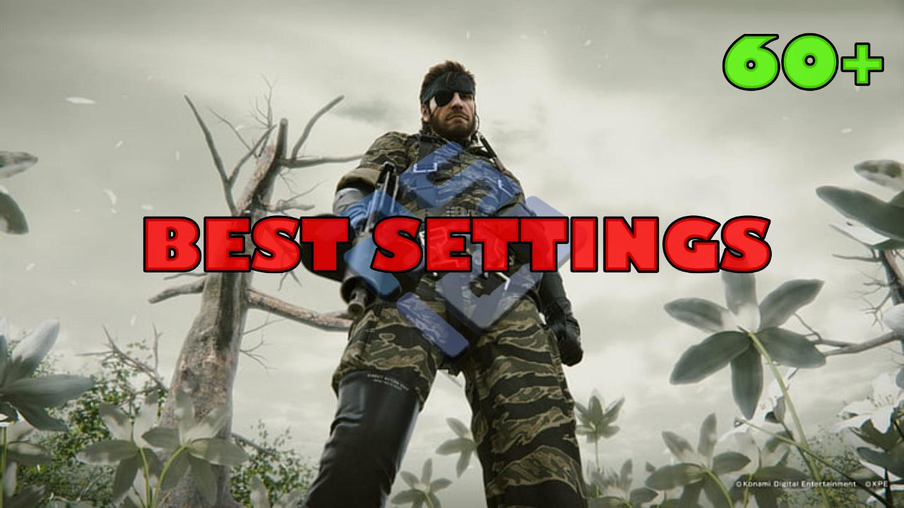 Best settings for Metal Gear Solid 3 (Snake Eater) (PS2) PCSX2 Low-End PC