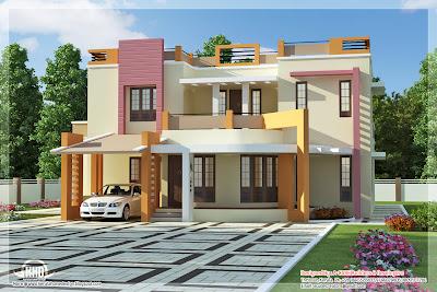 model rumah 2 lantai minimalis