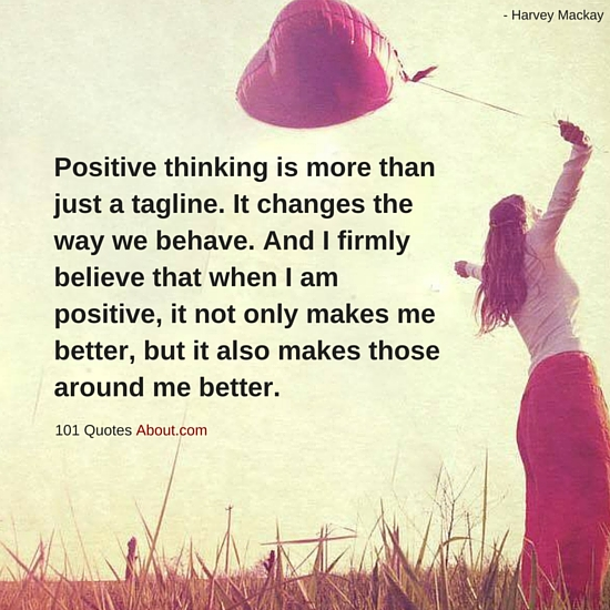 """Positive thinking Quotes"""