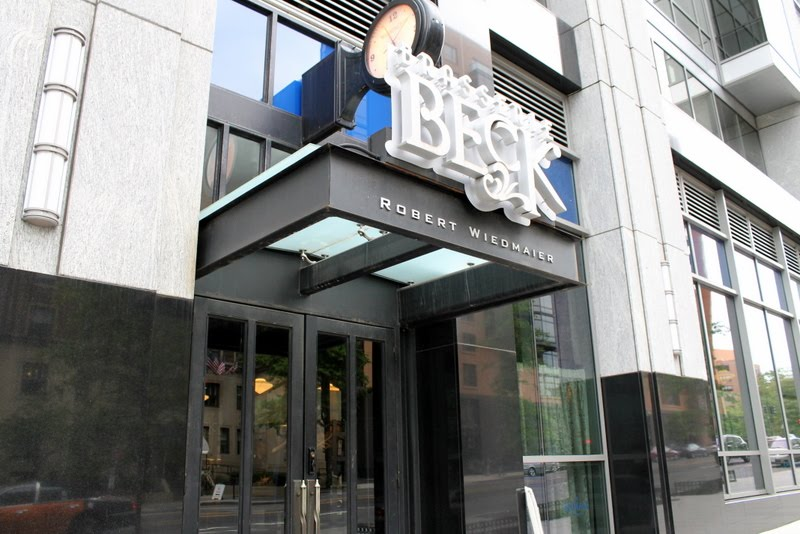 Lunching in the DMV Brasserie Beck  McPherson Square DC