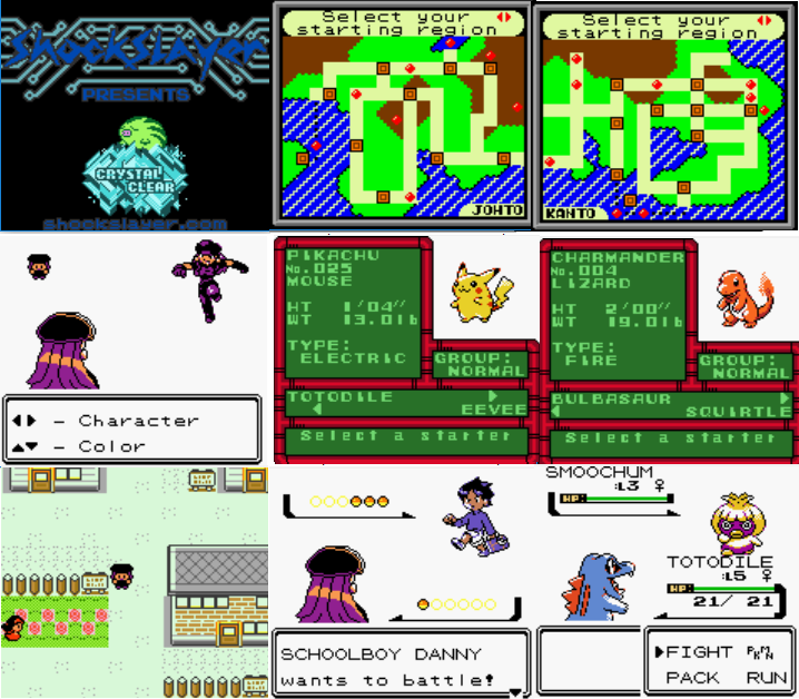 Pokemon Crystal Clear GBC ROM Download