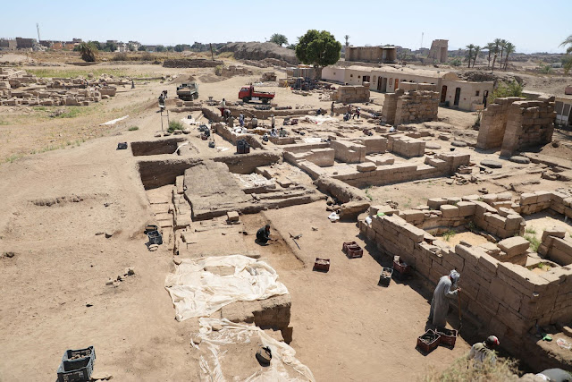 New finds at Montu Temple in Egypt's Luxor