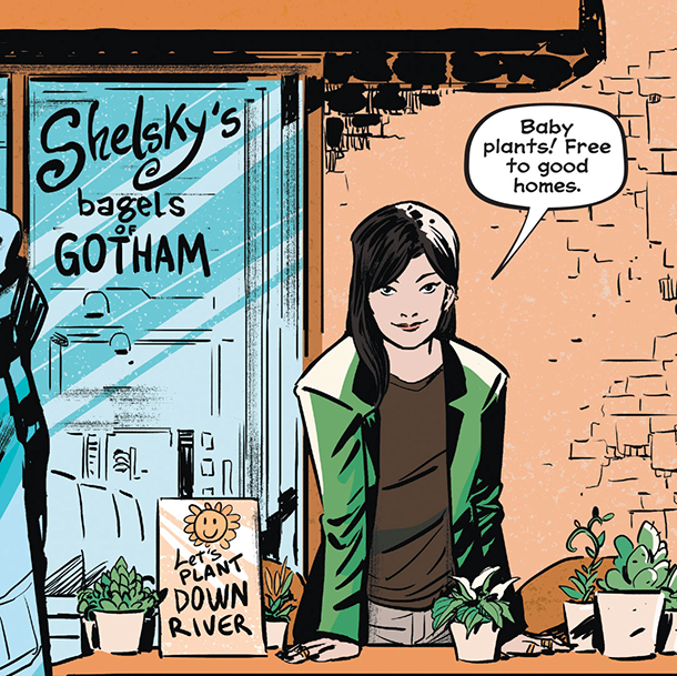 Whistle: A New Gotham City Hero - Ivy