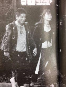 ホリエモンさん、大島薫さんのデート風景 幸せそう